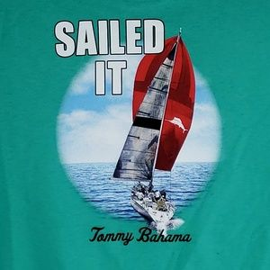 Tommy Bahama Mens Graphic T-Shirt  Sailed It Tee